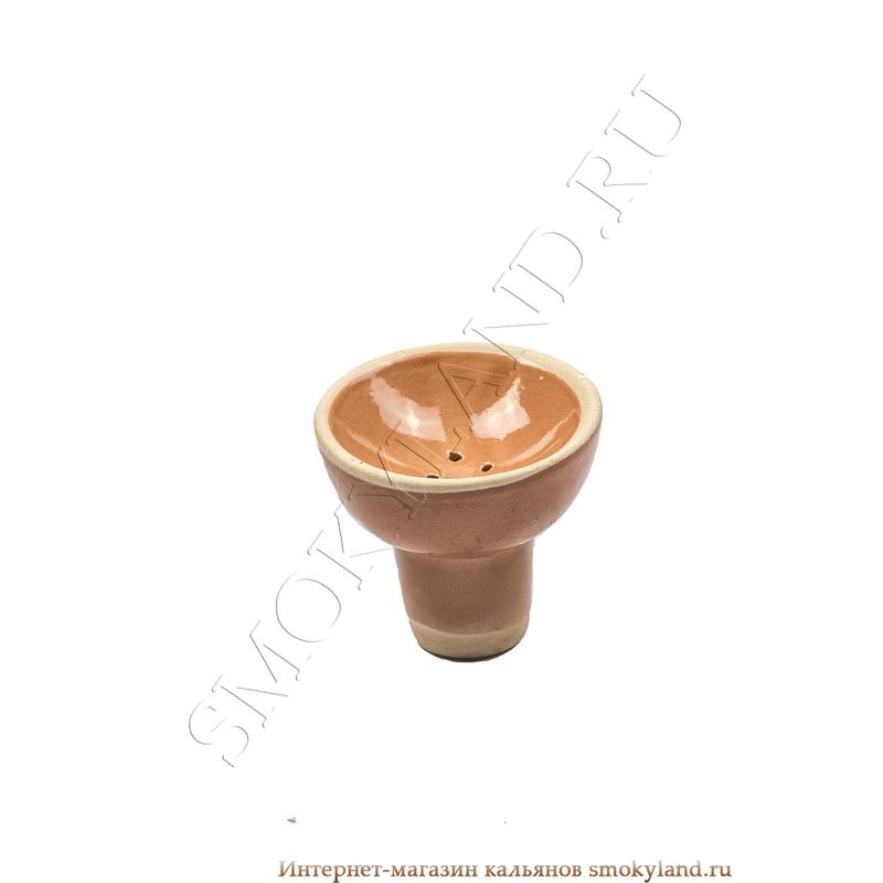 Чашка Китай чилим внутренний коричневый