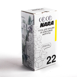 Уголь Coco Nara 1 кг 22 мм