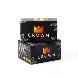 Уголь Crown 24 шт 22 мм