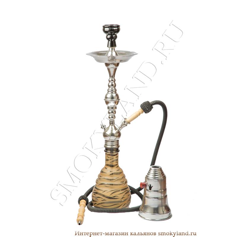 Кальян Aladin Zebra (Аладин Зебра) коричневый