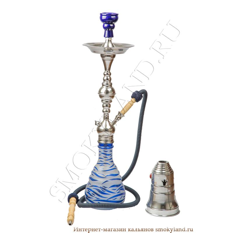 Кальян Aladin Zebra (Аладин Зебра) синий