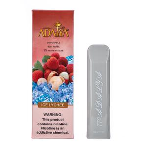 Одноразовая электронная сигарета Adalya Ice Lychee 5% 400 затяжек