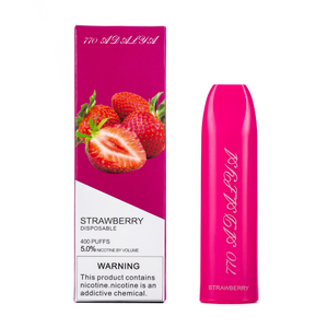Одноразовая электронная сигарета Adalya Strawberry 5% 400 затяжек