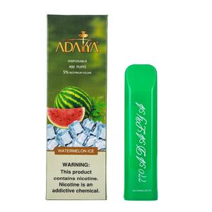 Одноразовая электронная сигарета Adalya Watermelon Ice 5% 400 затяжек
