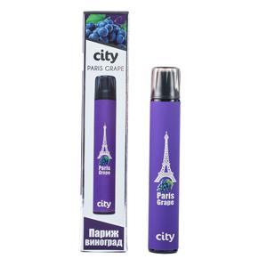 Одноразовая электронная сигарета City Subway Paris Grape (Париж Виноград) 900 затяжек