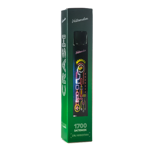 Одноразовая электронная сигарета Crash Watermelon (Арбуз) 1700  затяжек