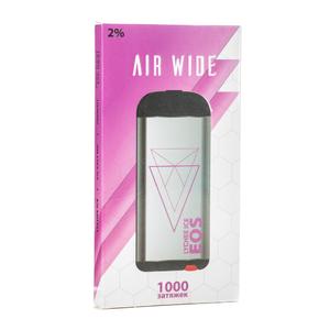 Одноразовая электронная сигарета EOS AIR WIDE Lychee Ice (Личи Лед) 1000 затяжек