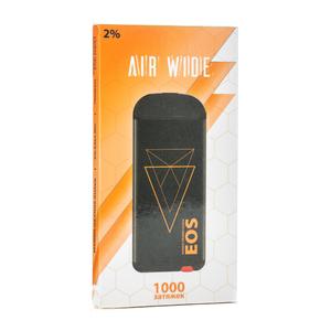 Одноразовая электронная сигарета EOS AIR WIDE Mango Orange Guava (Манго Апельсин Гуава) 1000 затяжек