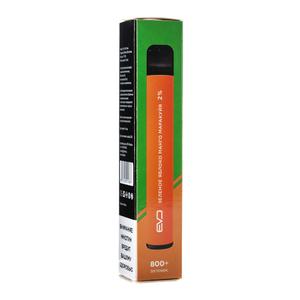 Одноразовая электронная сигарета EVO Зеленое Яблоко Манго Маракуйя