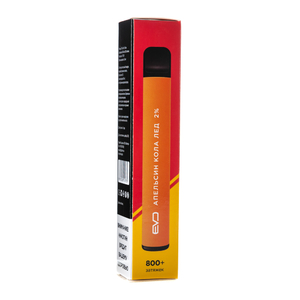 Одноразовая электронная сигарета EVO Апельсин Кола Лед