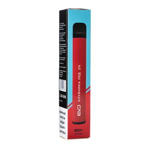 Одноразовая электронная сигарета EVO Клубника Лед