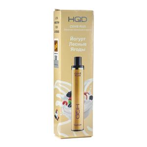 Одноразовая электронная сигарета HQD Cuvie Plus Yoghurt (Йогурт лесные ягоды)  1200 затяжек