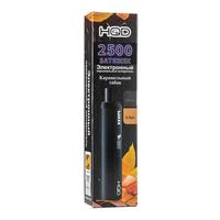 Одноразовая электронная сигарета HQD MAXX Карамельный табак 2500 затяжек