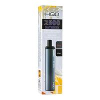 Одноразовая электронная сигарета HQD MAXX Коктейль Испанская Орчата 2500 затяжек