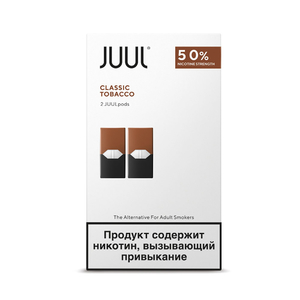 Картриджи JUUL Табак 5% 2 шт