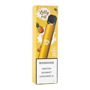 Одноразовая электронная сигарета Lolly Puff  Juicy Pineapple (Ананас) 1500 затяжек