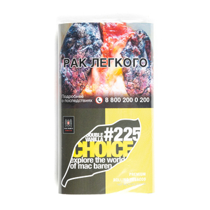 Табак сигаретный Mac Baren Double Vanilla Choice 225 (Двойная ваниль) 40 г