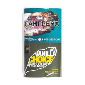Табак сигаретный Mac Baren Vanilla Choice 02 (Ваниль) 40 г