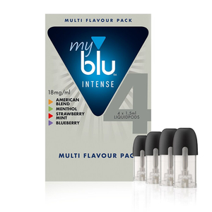 Капсула с жидкостью MyBlu Intense 4 вкуса 18мг 4х1.5мл