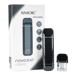 POD-система набор NOVO 2 PoD 800mAh Kit by SMOK Black Cobra