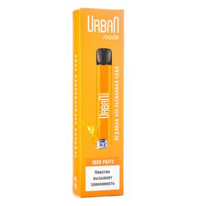 Одноразовая электронная сигарета Urban Mode ледяная апельсиновая сода 1800 затяжек