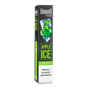 Одноразовая электронная сигарета Urban Mode Apple Ice 800 затяжек