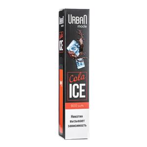 Одноразовая электронная сигарета Urban Mode Cola Ice 800 затяжек
