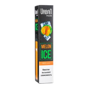 Одноразовая электронная сигарета Urban Mode Melon Ice 800 затяжек