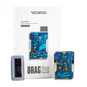 Набор VOOPOO Drag Nano 750mAh Pod Kit VP-029A Nebulas Blue