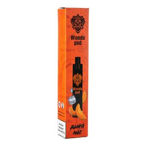 Одноразовая электронная сигарета Woodu Дыня айс 1200 затяжек