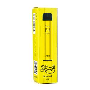 Одноразовая электронная сигарета IZI Max Banana Ice (Банан со льдом) 1600 затяжек