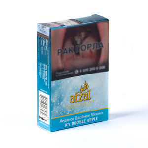 Табак Afzal Icy Double Apple (Ледяное Двойное Яблоко) 40 г
