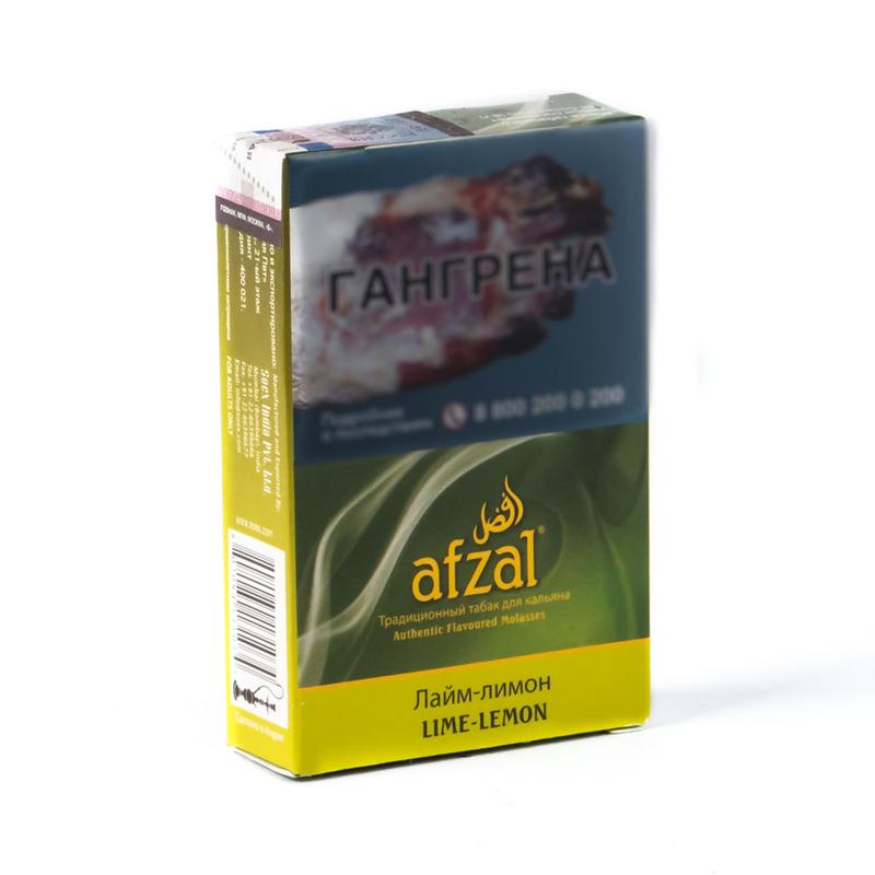 Табак Afzal Lime Lemon (Лимон лайм) 40 г