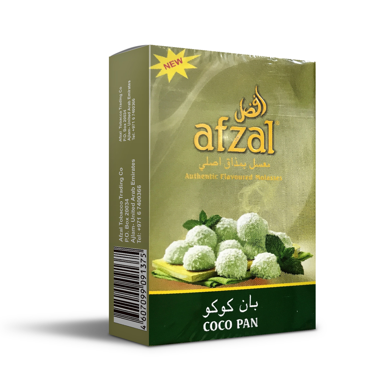 Табак Afzal Coco Pan (Пряный кокос) 50 г