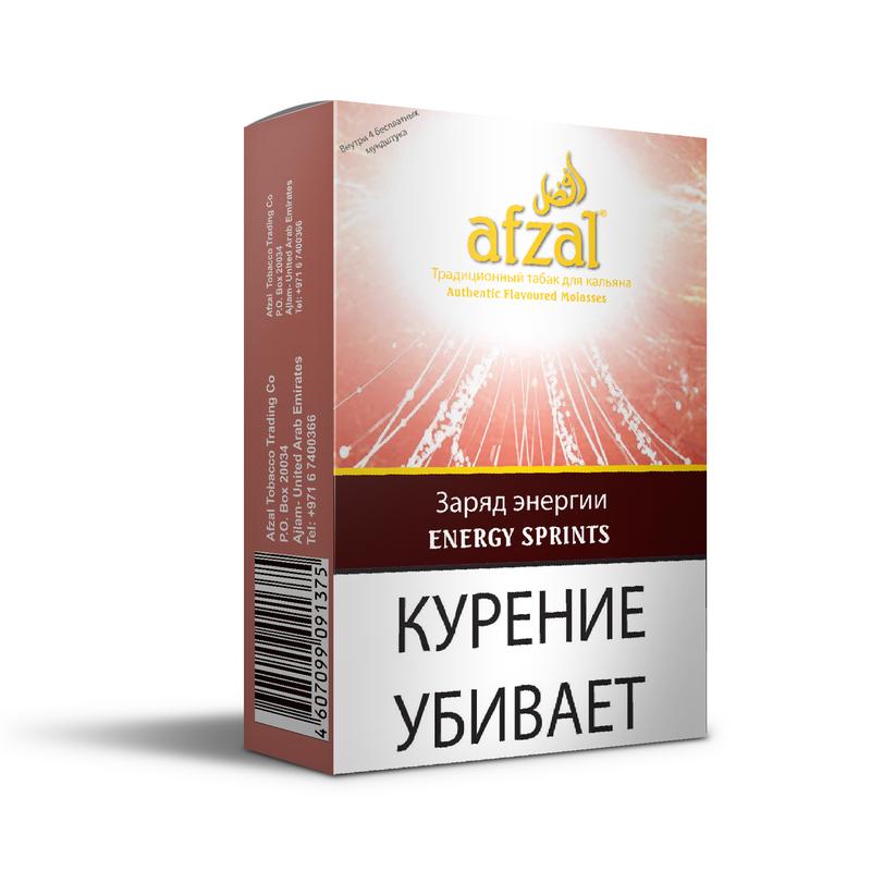 Табак Afzal Energy sprints (Энергетик) 50 г