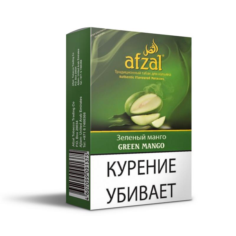 Табак Afzal Green Mango (Зеленое манго) 50 г