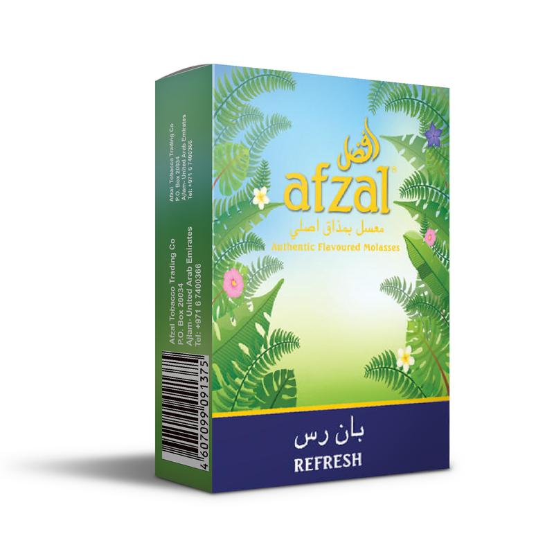 Табак Afzal Refresh (Мультифрукт Мята) 50 г
