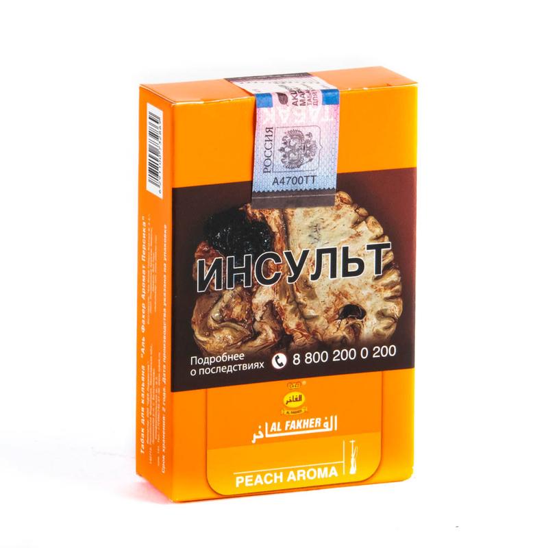 Табак Al Fakher Peach (Аль Факер Персик) 50 г