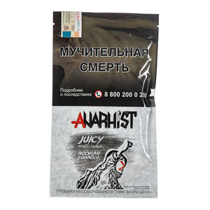 Табак Anarhist Juicy (Гуава Маракуйя Арбуз Карамель Тархун) 100 г