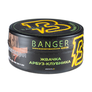 Табак Banger Yummy Gum (Жвачка арбуз клубника) 100 г