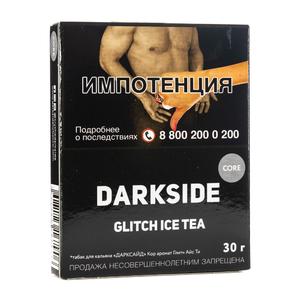 Табак Dark Side Core Glitch Ice Tea (Персиковый чай) 30 г