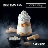Табак DARK SIDE Core Deep Blue Sea (Сливочный коктейль) 250 г