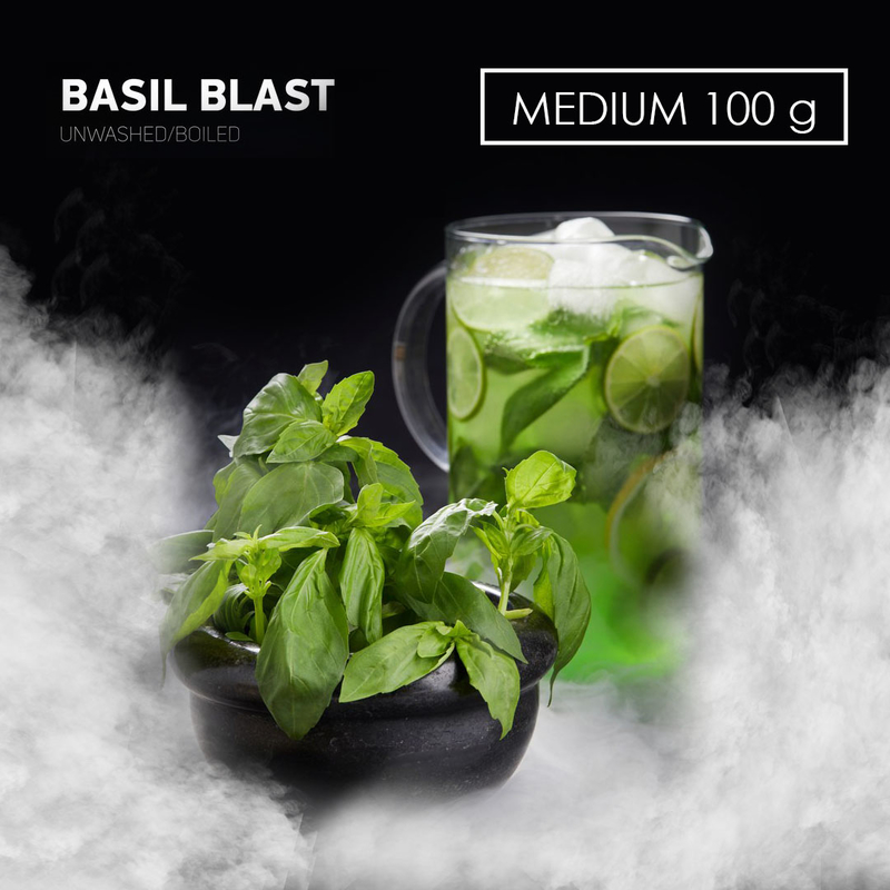 Табак DARK SIDE Medium BasilBlast (Базилик) 100 г
