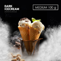 Табак DARK SIDE Medium Dark Icecream (Шоколадное мороженое) 100 г