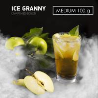 Табак DARK SIDE MEDIUM Ice Granny (Ледяное яблоко) 100 г