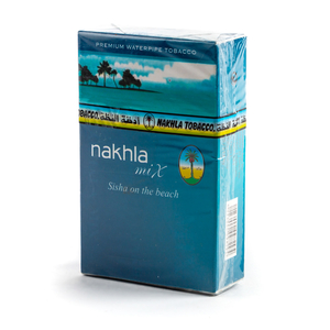 Табак Nakhla MIX Shisha on the beach (Персик, клюква, апельсин) 50 г