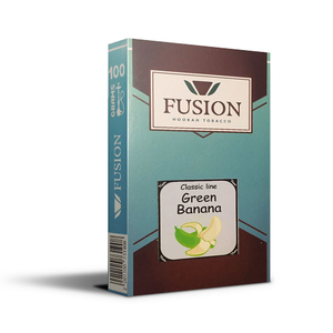 Табак Fusion Soft Green Banana (Зеленый банан) 100 г