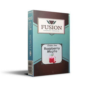 Табак Fusion Soft Raspberry Mojito (Малиновый мохито) 100 г