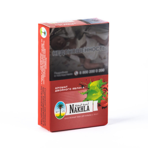 Табак Nakhla NEW Двойное Яблоко (Two Apples) 50 г