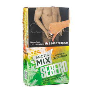 Табак Sebero Arctic Mix TARRAGON (Базилик Огурец Кола Абрикос Клубника Банан Арктик) 30 г